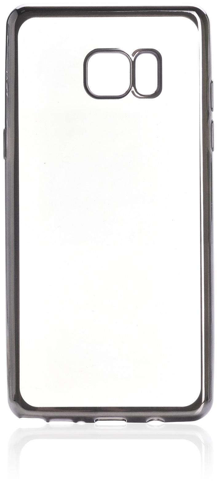 Чехол iNeez накладка силикон с рамкой 900638 для Samsung Galaxy Note 7,900638,графит