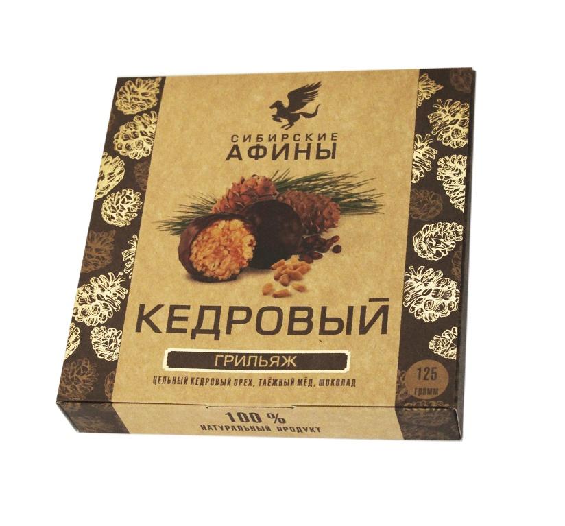 Конфеты Сибирские афины Кедровый Грильяж классический, 125 гр. стоимость авиабилета москва афины