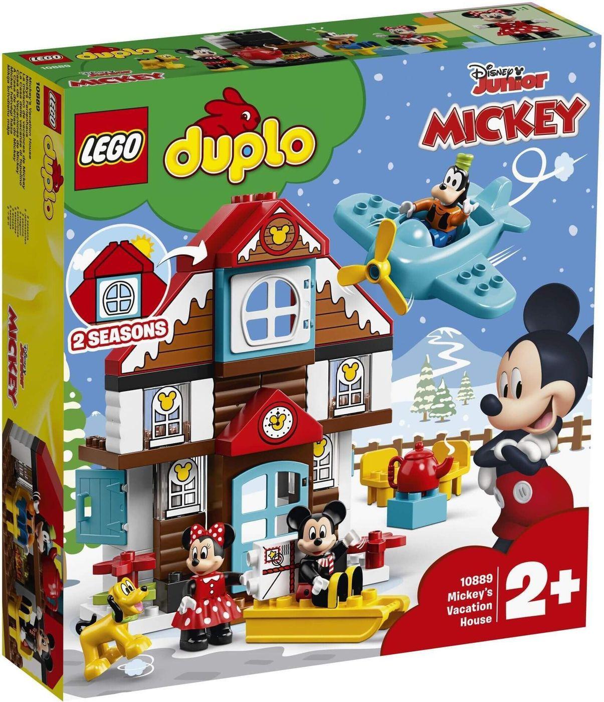LEGO DUPLO Disney 10889 Летний домик Микки Конструктор