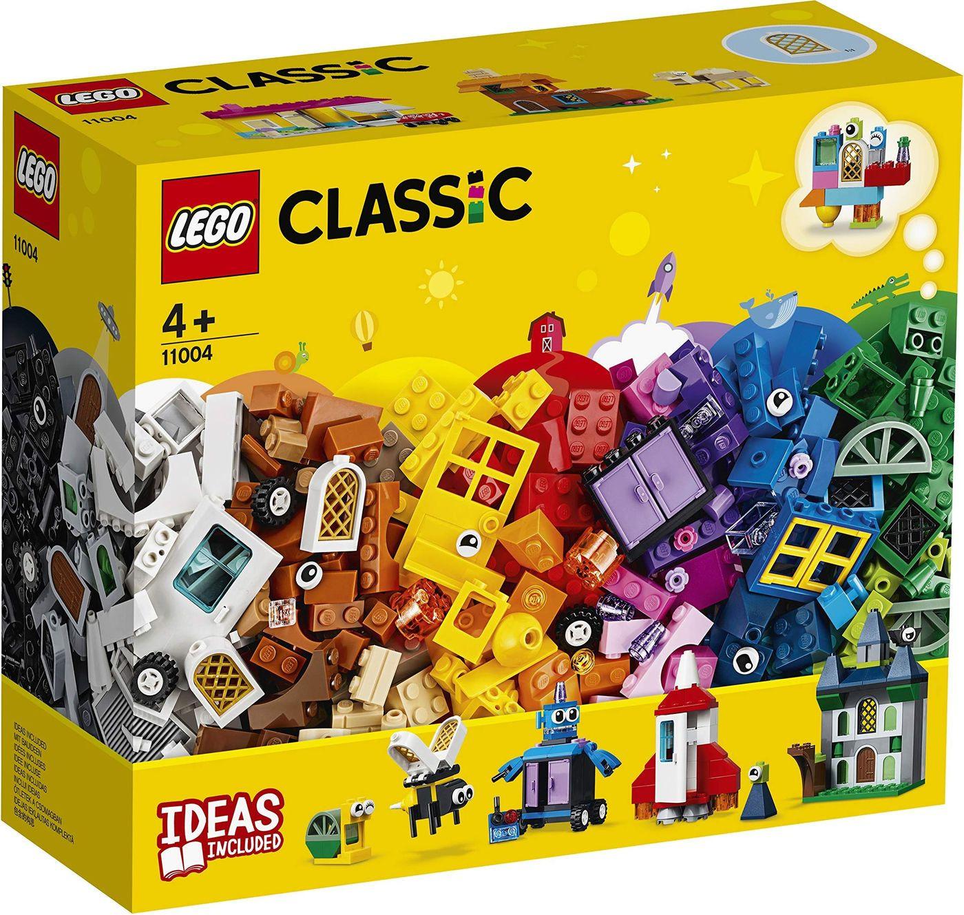 LEGO Classic 11004 Набор для творчества с окнами Конструктор