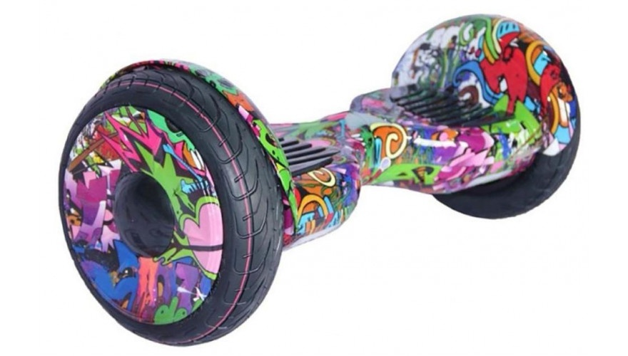 Гироскутер CARCAM SMART BALANCE Graffity Purple 10.5