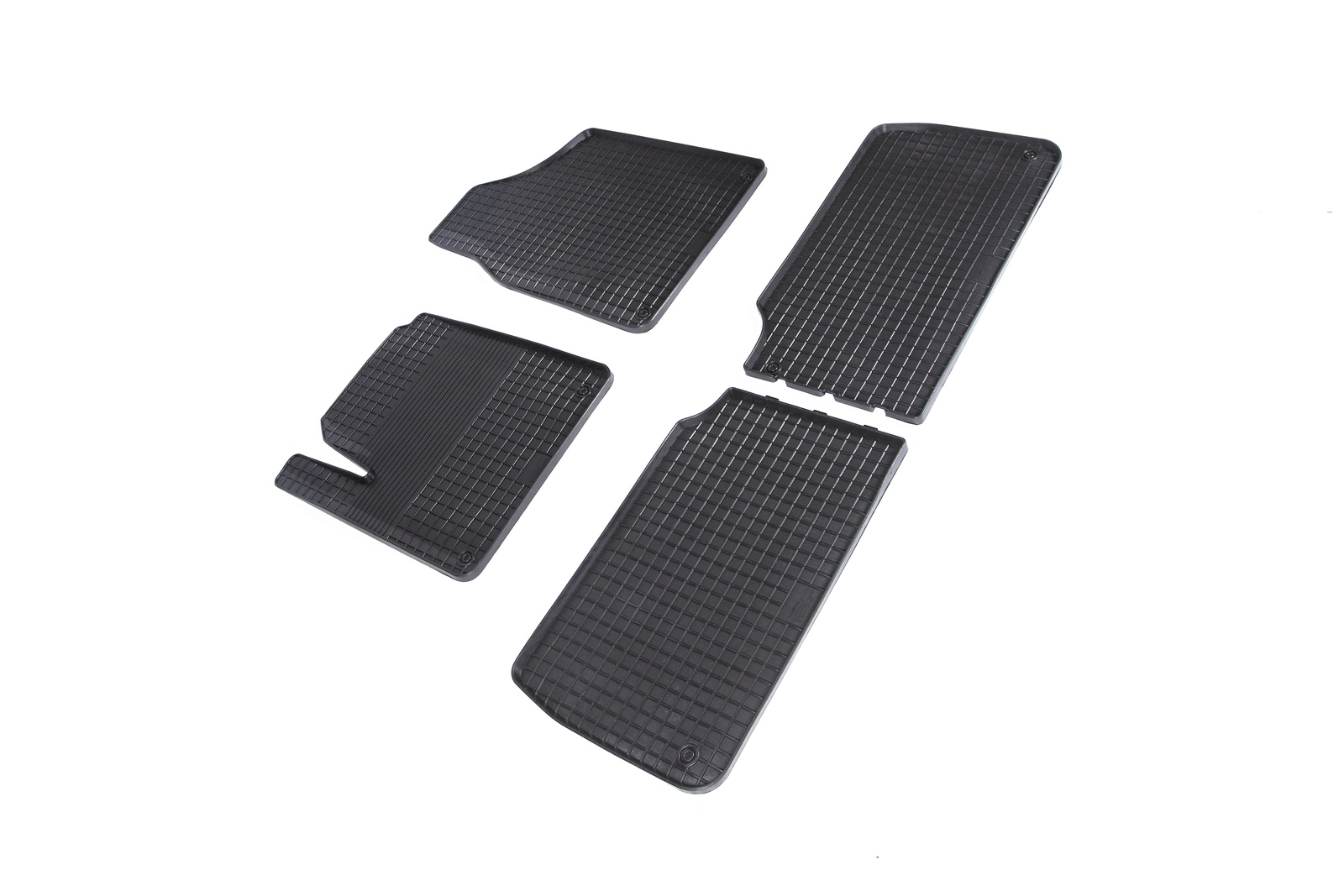 Коврики в салон автомобиля Seintex Резиновые коврики Сетка для Audi Q7 2005-2015 для автомобиля audi