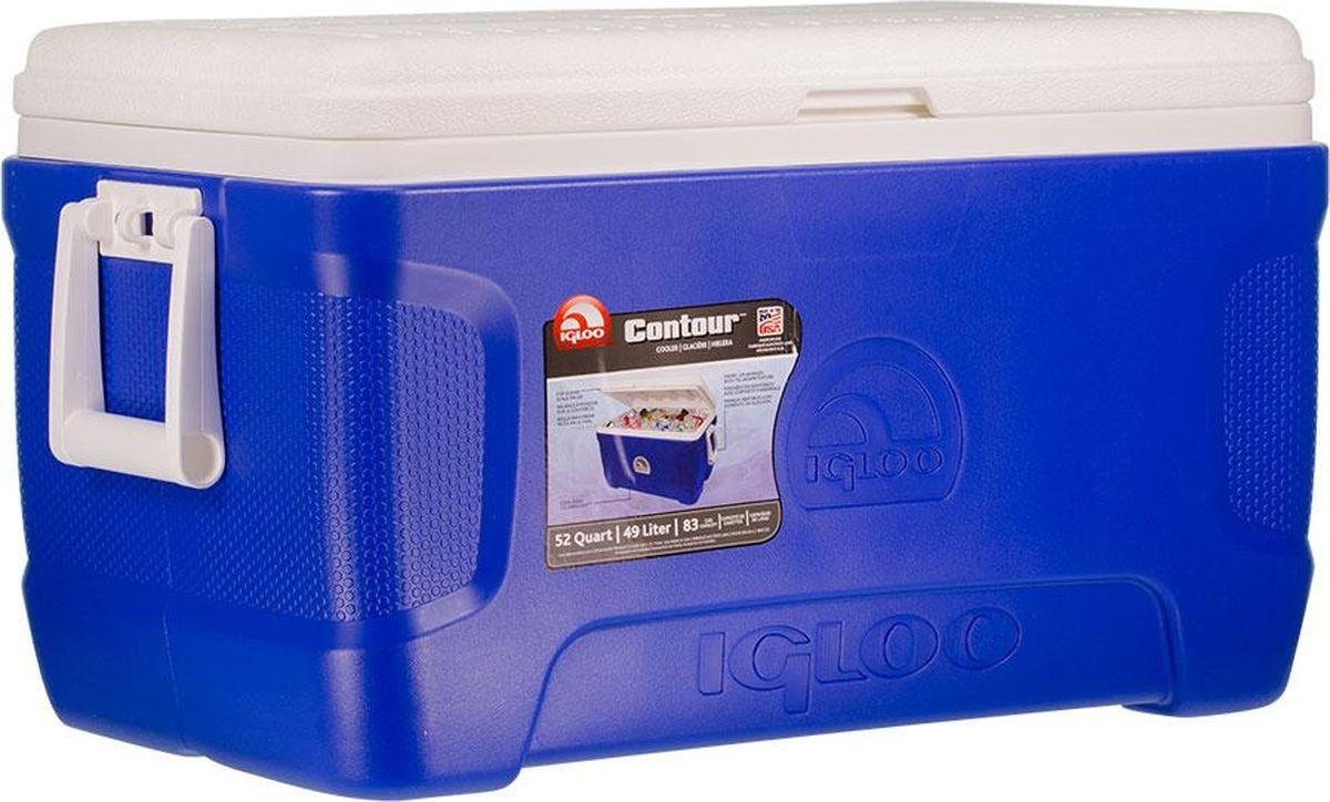 Изотермический контейнер Igloo Contour, 00049571, голубой, 66 х 38 х 37 см