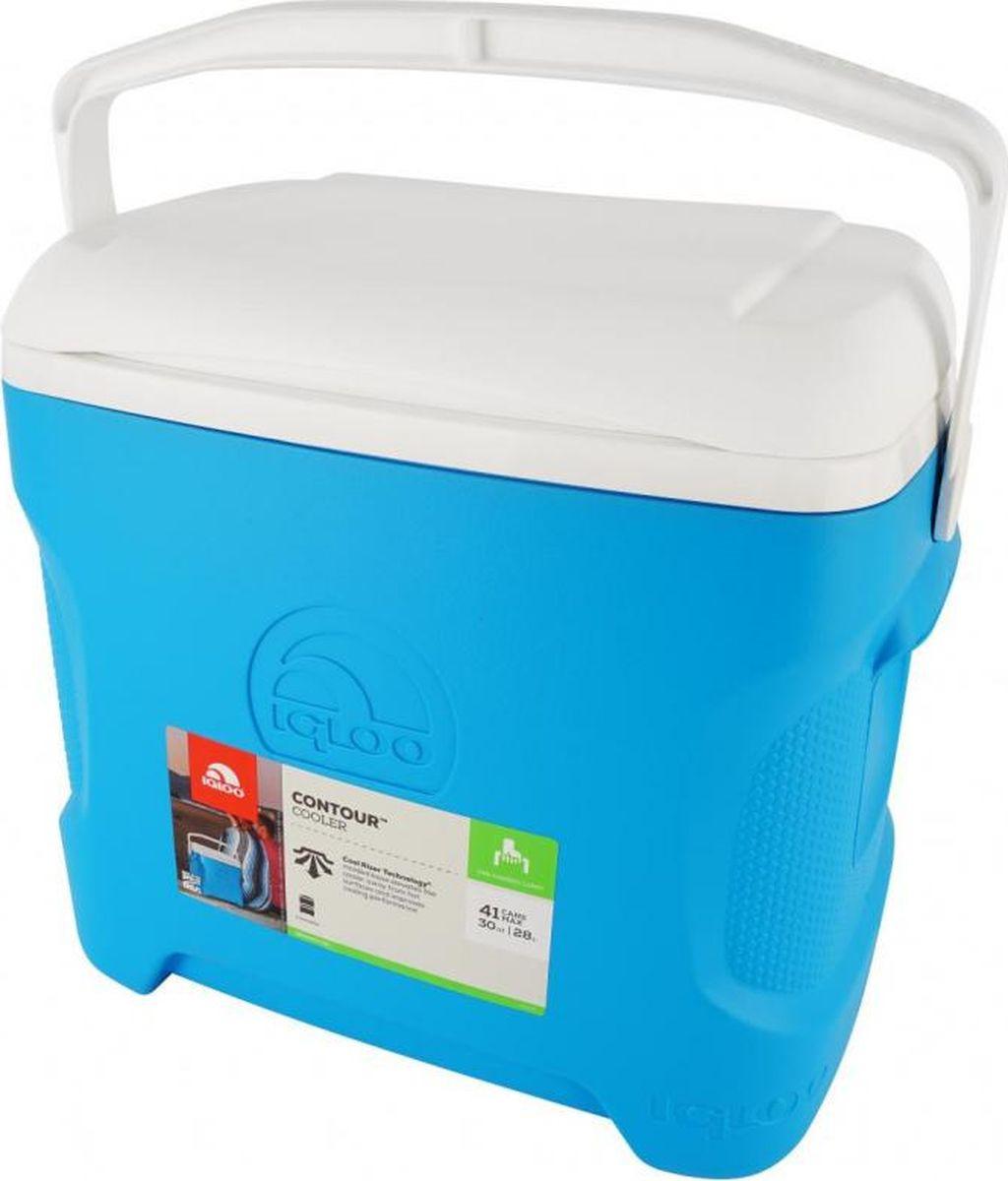 Изотермический контейнер Igloo Contour, 00049792, синий, 47 х 34 х 43 см igloo изотермический контейнер igloo playmate pal jucetwh