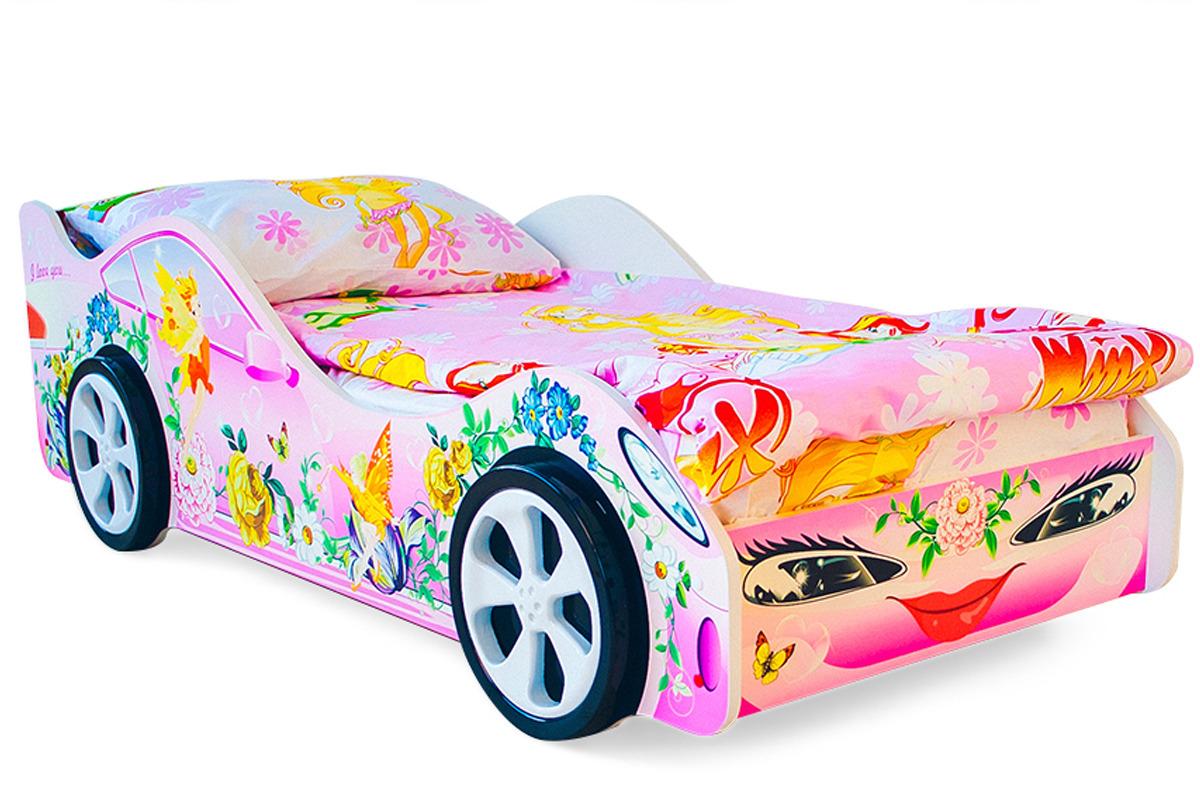 """Кровать детская Бельмарко """"Фея"""", 17884, розовый"""