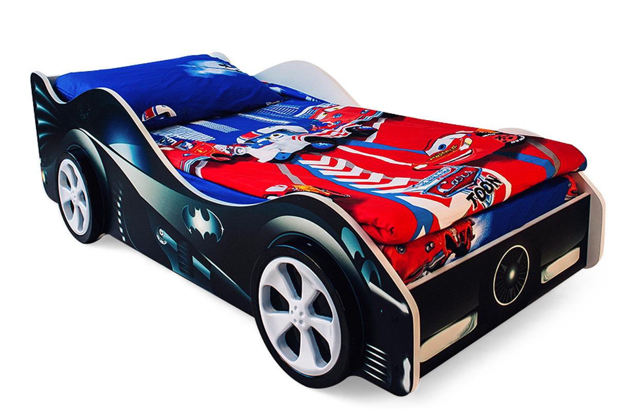 """Кровать детская Бельмарко """"Бэтмобиль"""", 17894, черный"""