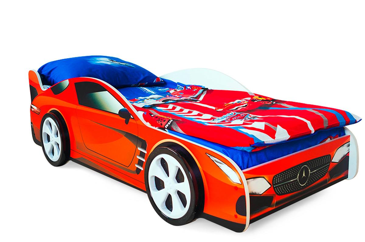 Кровать детская Бельмарко Mercedes, 30398, красный