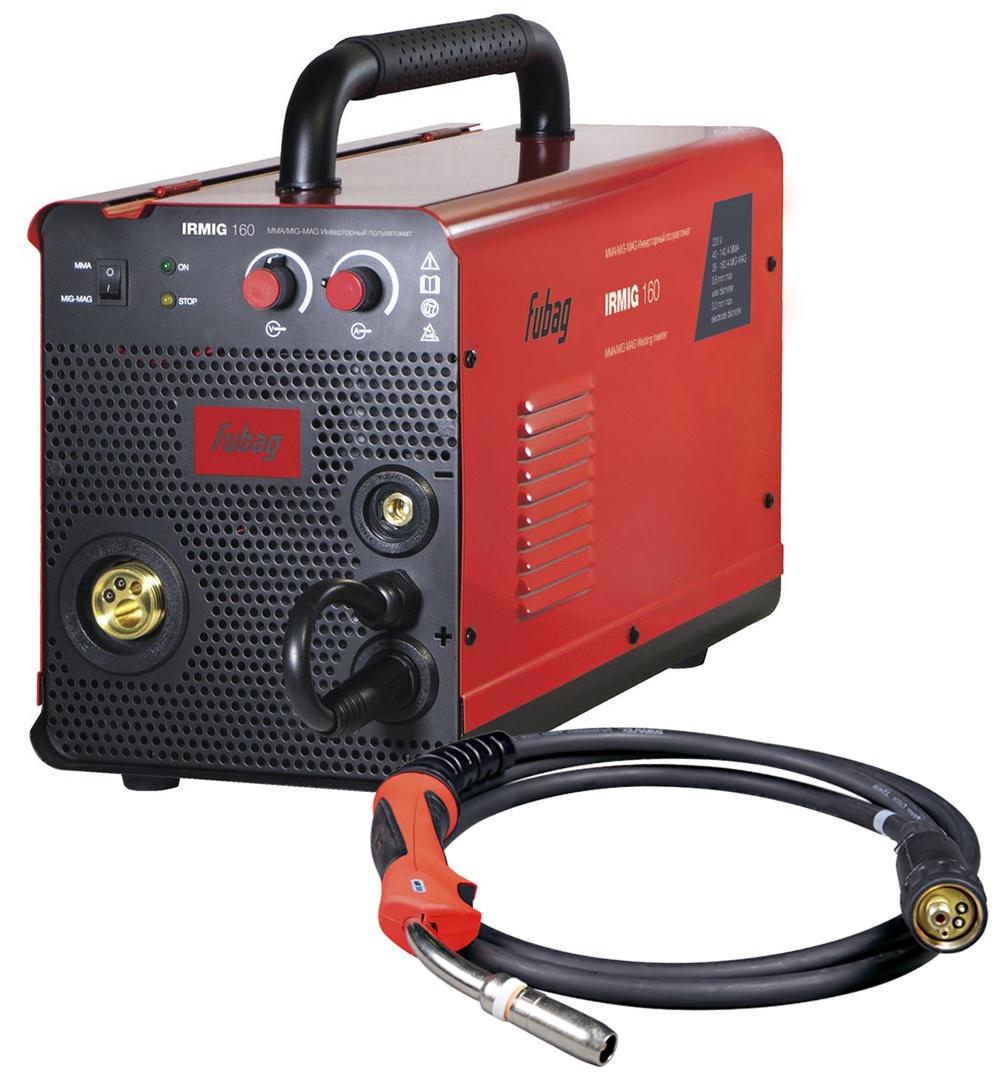 Сварочный аппарат FUBAG IRMIG 160, красный, черный