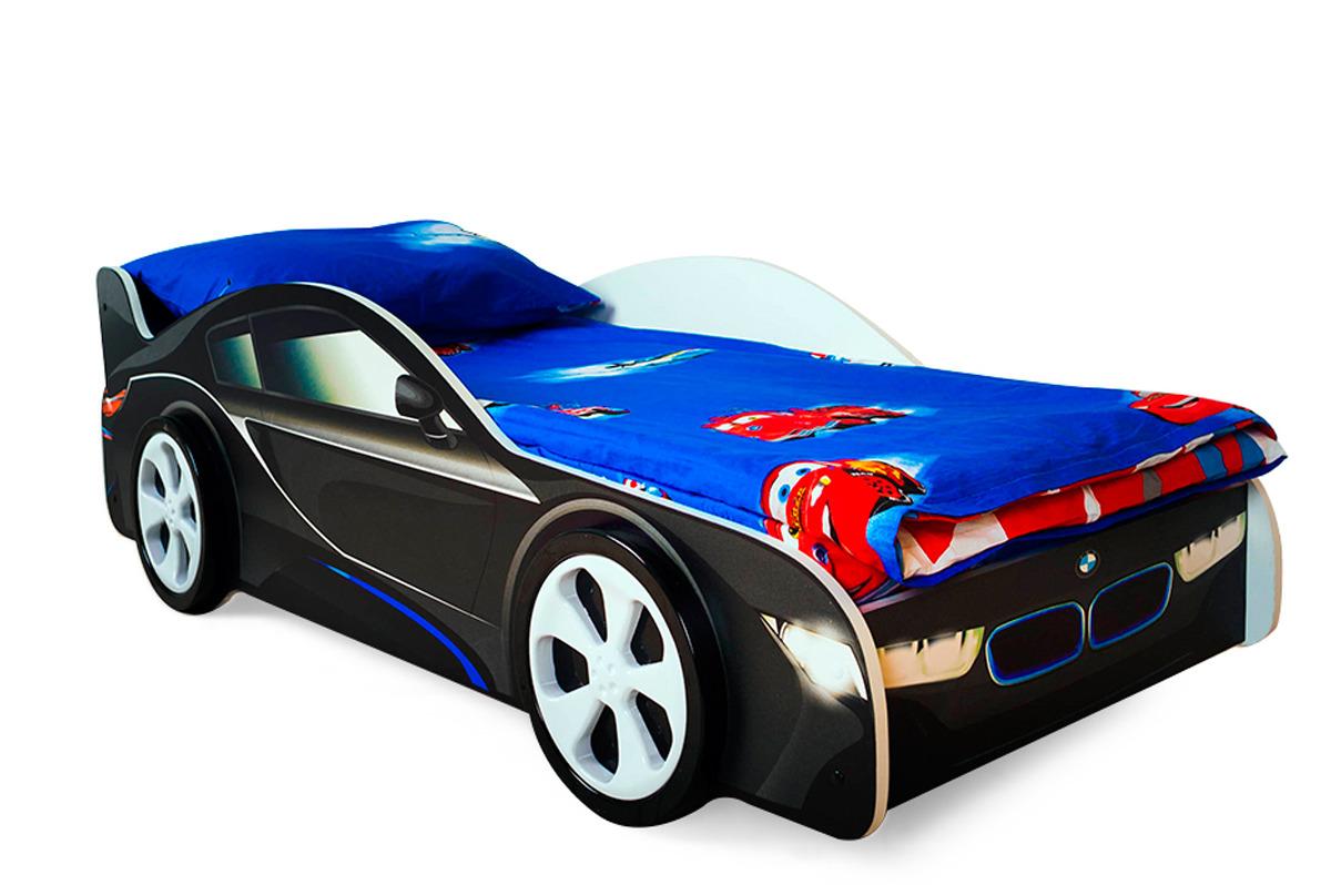 Кровать детская Бельмарко BMW, 30399, черный