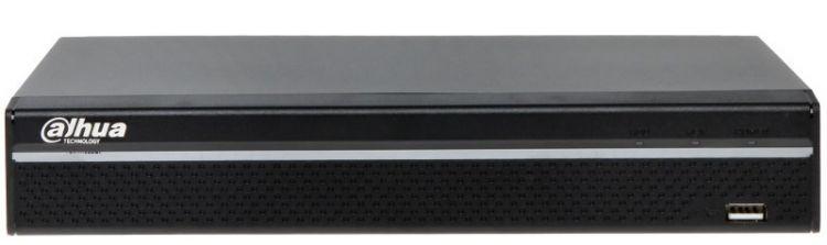 Регистратор Dahua 8-ми канальный IP видеорегистратор DHI-NVR2108HS-8P-4KS2, черный видеорегистратор 8 камер