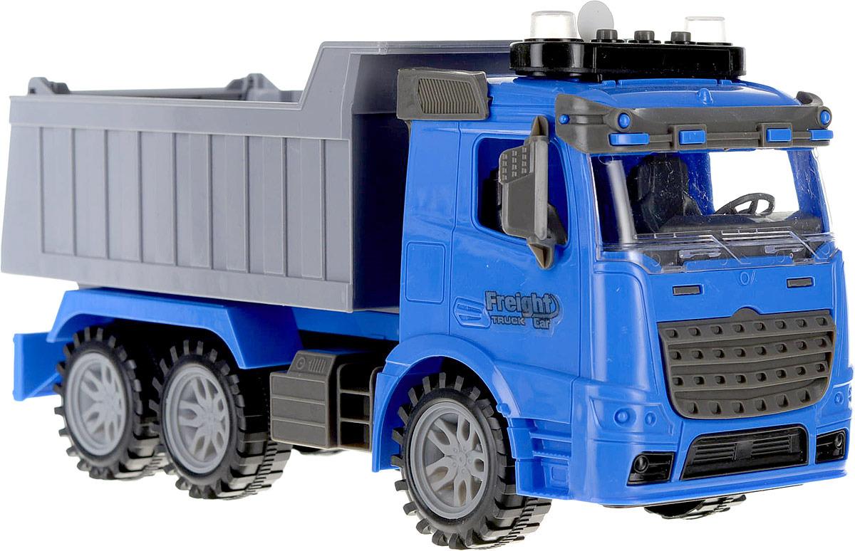 Машинка Junfa Toys Грузовик, 98-611A инерционная машинка shantou gepai грузовик 98 611a цвет в ассортименте в ассортименте