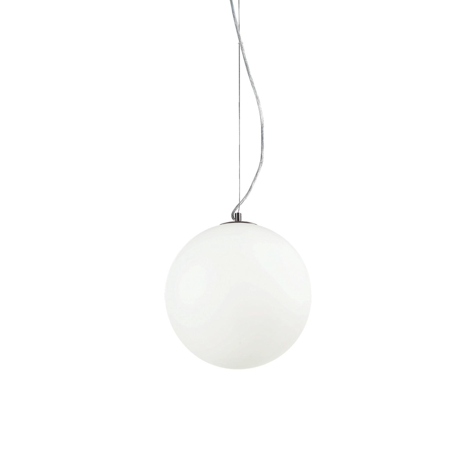 Подвесной светильник Ideal Lux SP1 D30 BIANCO ideal lux подвесной светильник ideal lux cylinder sp1 d30 bianco