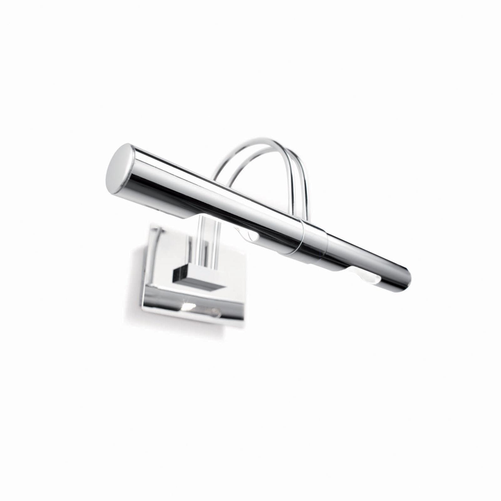 лучшая цена Настенный светильник Ideal Lux AP2 CROMO
