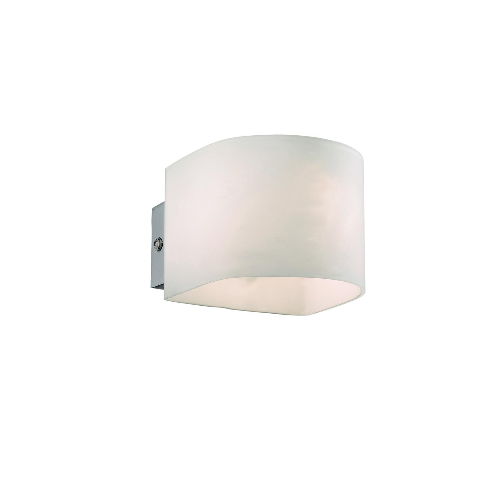 Настенный светильник Ideal Lux AP1 BIANCO, G9, 40 Вт ideal lux настенный светильник ideal lux puzzle ap1 bianco