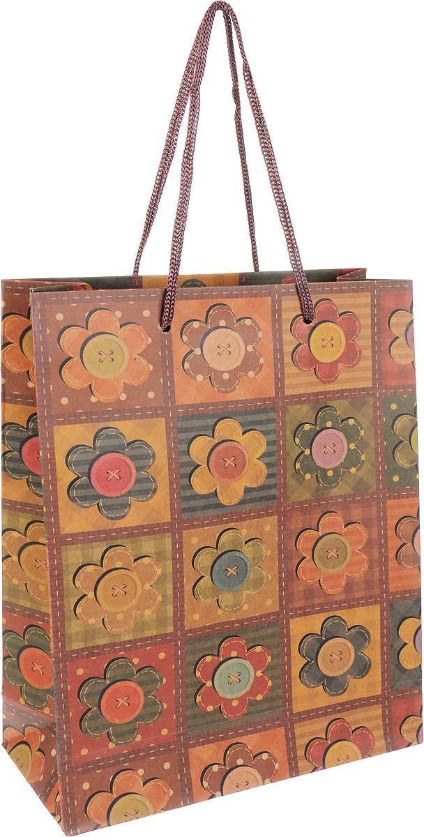 """<b>Подарочная упаковка Miland</b> """"Пуговки-цветочки"""", 16 х 21 х 6 см ..."""