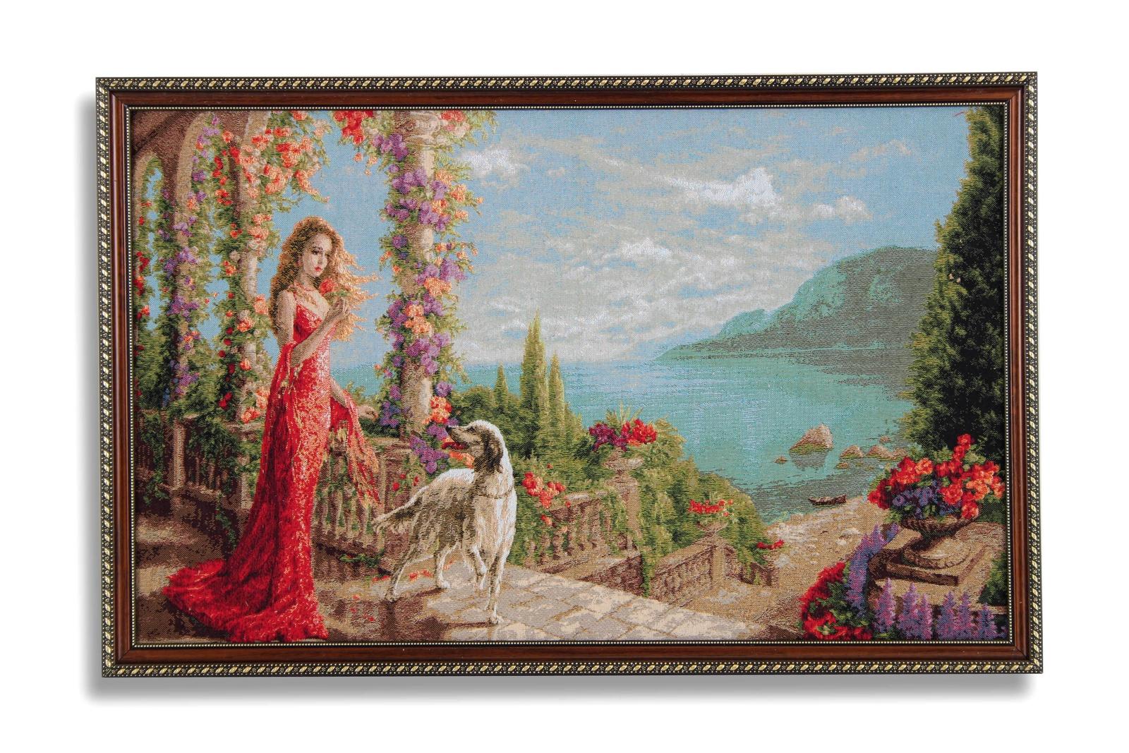 Картина Магазин гобеленов верность 50*77 см, Гобелен сирень картина верность 60 40 см