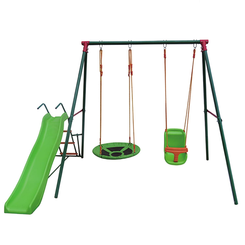 Игровой комплекс DFC RBS-02 зеленый, оранжевый