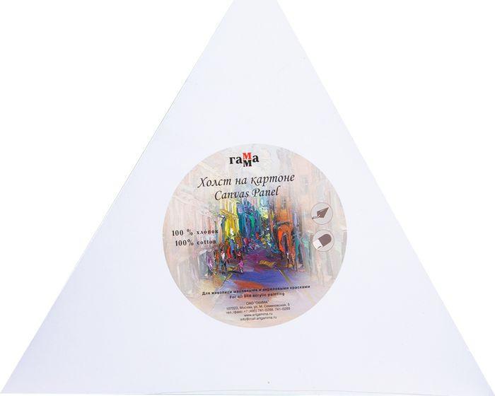 Холст Гамма, треугольный, на картоне, среднее зерно, 40,5 х 40,5 х 40,5 см