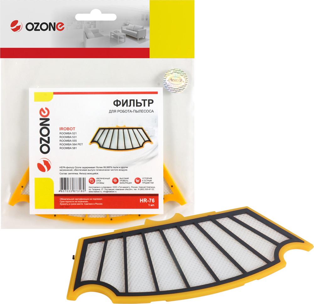 Ozone HR-76 фильтр для iRobot ROOMBA 500 серии набор фильтров irobot сменный фильтр для roomba 700 серии 21899
