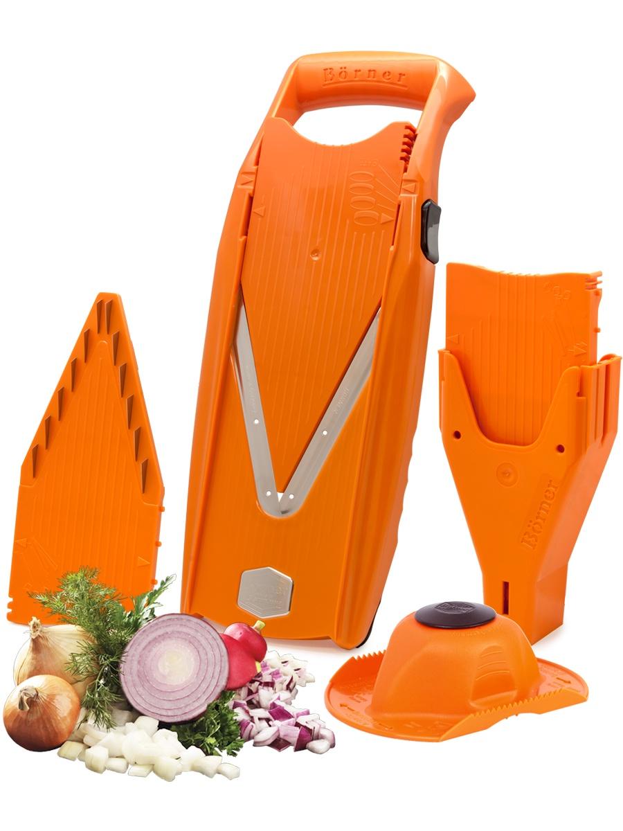 """Овощерезка Borner """"Prima+"""", цвет: оранжевый, 6 предметов"""