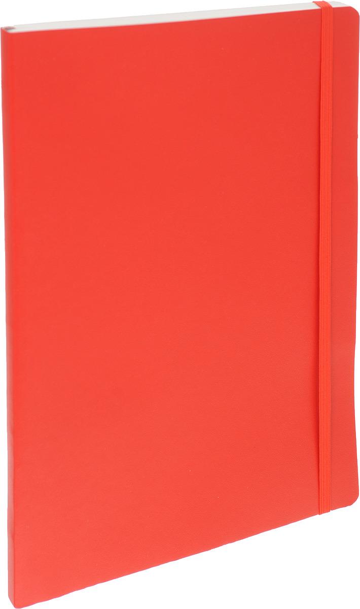 Записная книжка Leuchtturm1917, 349306, красный, B5 (176 x 250 мм), в линейку, 62 листа