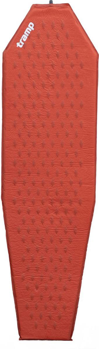 Коврик самонадувающийся Tramp Ultralight TPU, TRI-022, оранжевый, 183 х 51 см коврик tramp tri 002