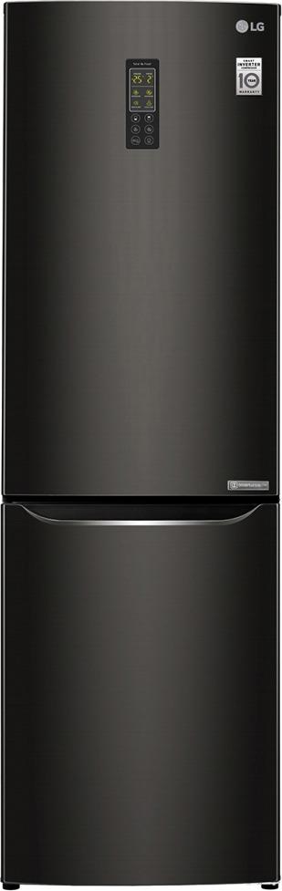 Холодильник LG GA-B419SBUL, черный