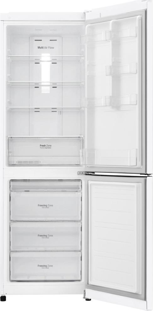 Холодильник LG GA-B419SQGL, белый LG