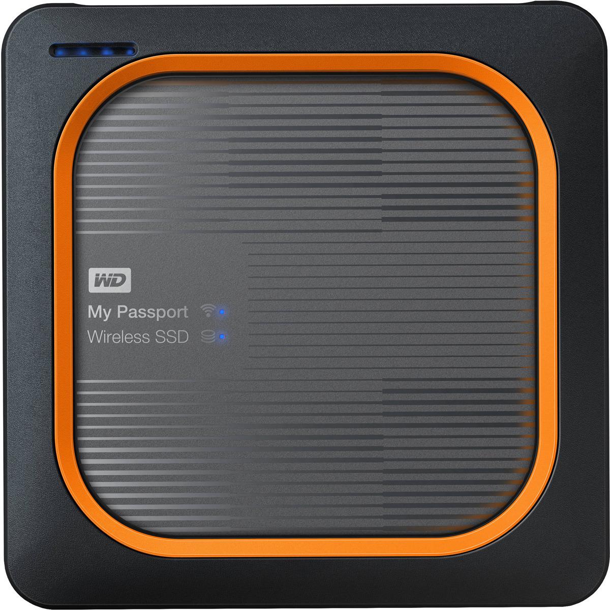 Фото - Внешний SSD WD My Passport Wireless, 1 ТБ видео