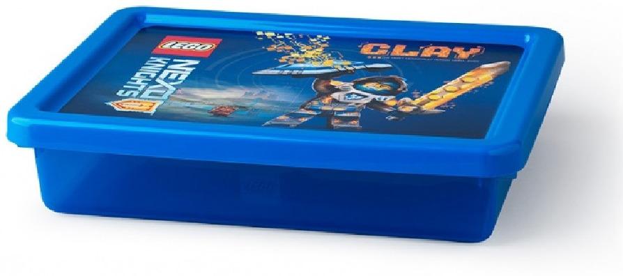 Ящик для игрушек LEGO Storage Box Small Nexo Knights, 40921734, синий