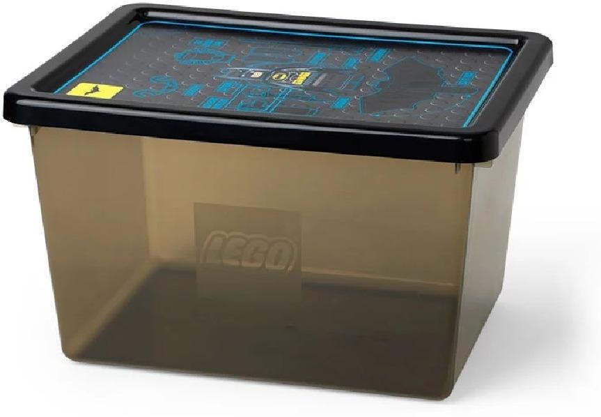 Ящик для игрушек LEGO Storage Box Large Batman, 40941735, черный