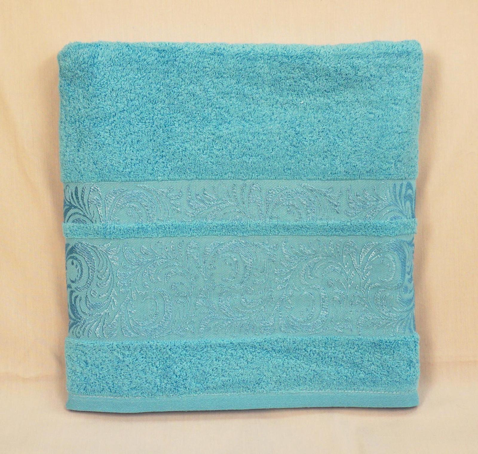 Полотенце банное Grand Stil Мидея, размер 68*135, GS-H33b, синий цена