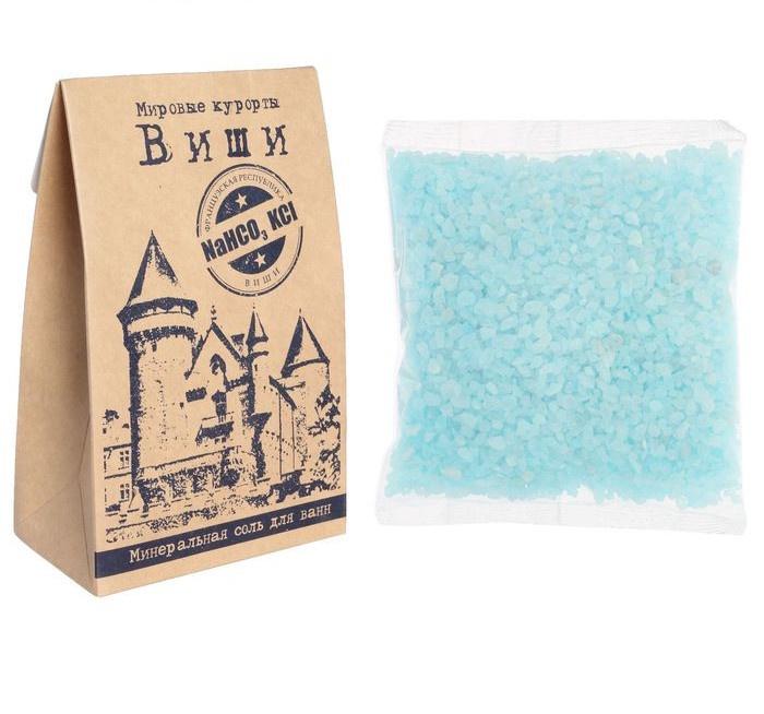 Соль для ванн Laboratory Katrin серия Мировые курорты Виши 400г (Эко-Пак) виши селлебиотик