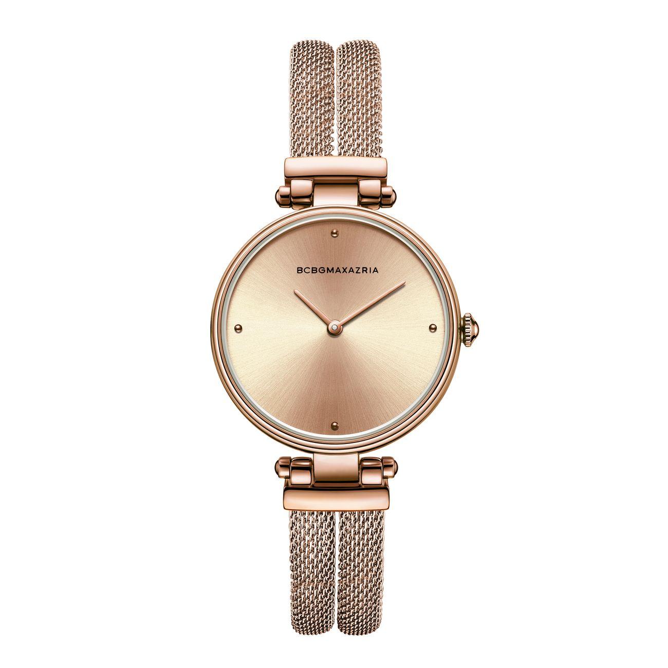 Часы BCBGMAXAZRIA часы nixon time teller deluxe leather navy sunray brow