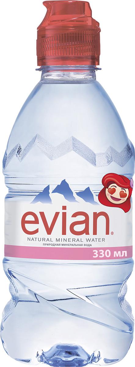 Вода Evian детская природного происхождения, 0,33 л