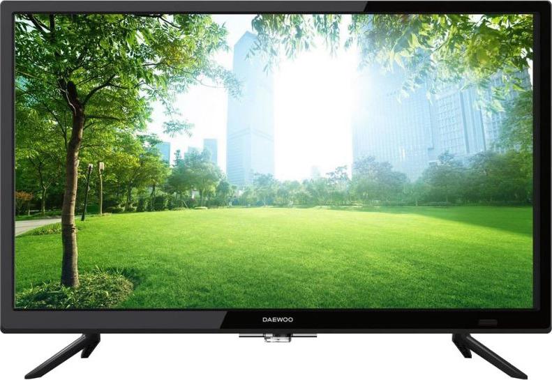 лучшая цена Телевизор Daewoo L24A610VAE 24