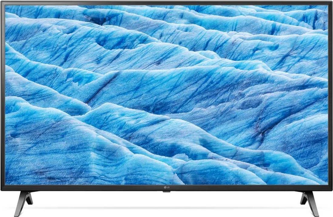 Телевизор LG 43UM7100PLB, черный телевизор 4к что это
