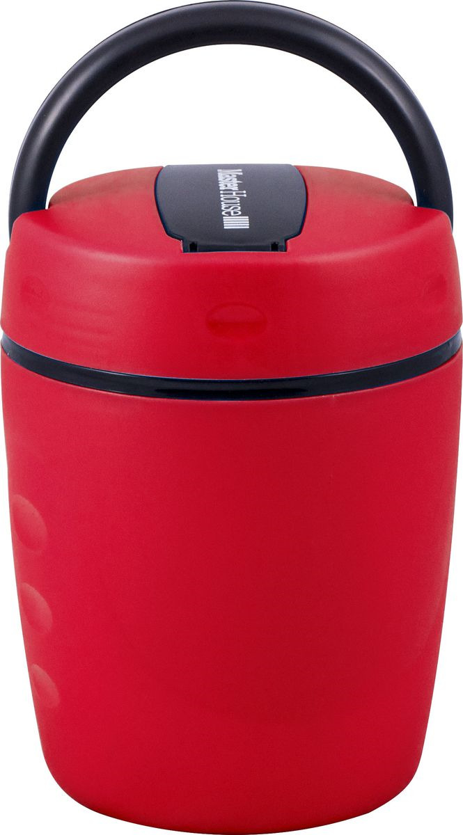 Ланч-бокс Master House Неаполь, красный, 1,2 л ланч бокс attribute homio цвет красный бордовый 740 мл atc407