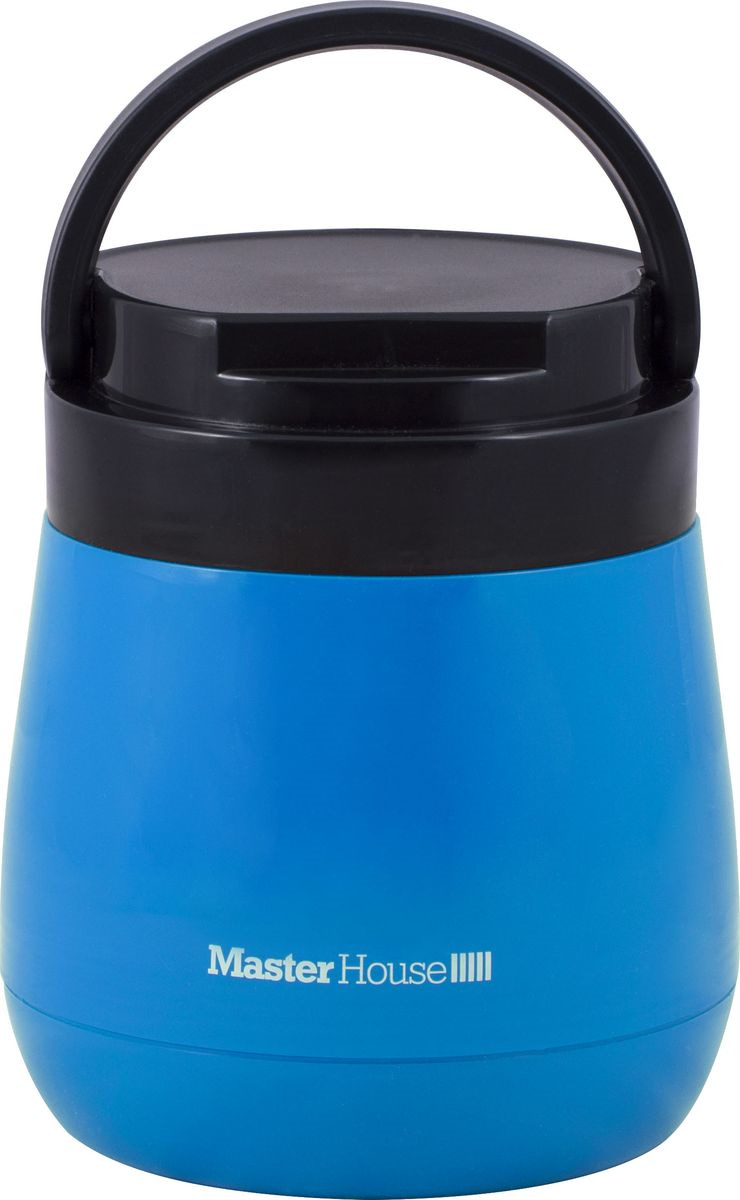 Ланч-бокс Master House Милан, синий, 1 л ланч бокс gipfel 0 6 л синий