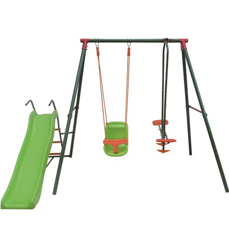 Игровой комплекс DFC GBN-02 зеленый, оранжевый