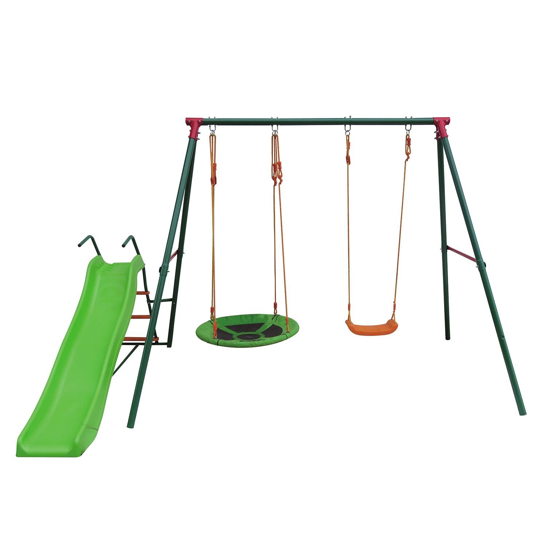 Игровой комплекс DFC MSS-02 зеленый, оранжевый