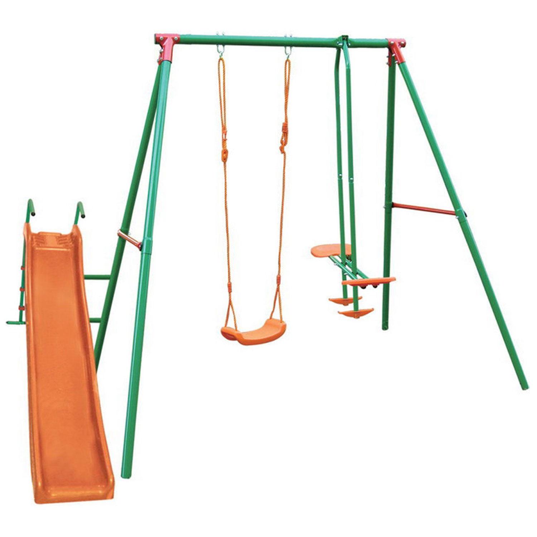 Игровой комплекс DFC MSN-02 зеленый, оранжевый
