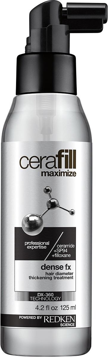 Спрей для волос Redken Cerafill Maximize Dense Fx, несмываемый уход, 125 мл redken cerafill retaliate stemoxydine 5% ежедневный несмываемый уход