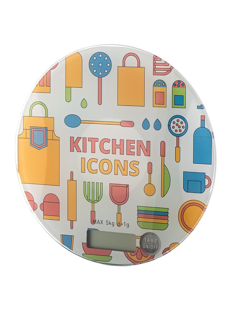 Фото - Кухонные весы JESELVIP VKE-401, голубой, желтый, розовый авто