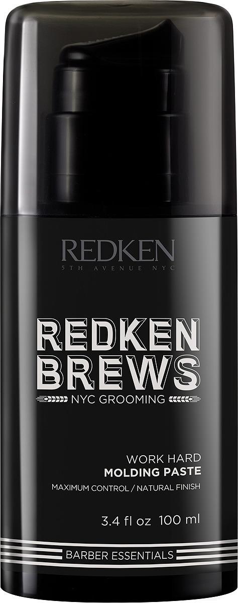 Моделирующая паста Redken Brews, для подвижной текстуры и гибкой формы укладки, 100 мл