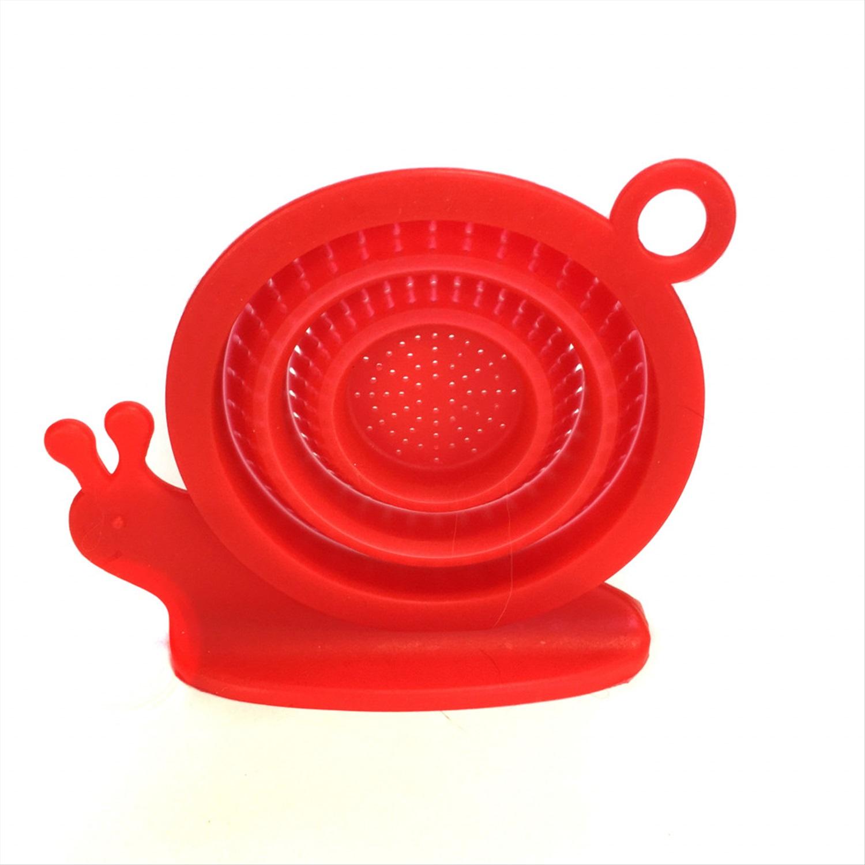 Пробка для ванны Migliores Складная, силиконовая, красный