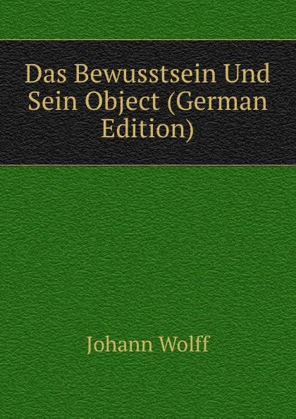 Das Bewusstsein Und Sein Object (German Edition)