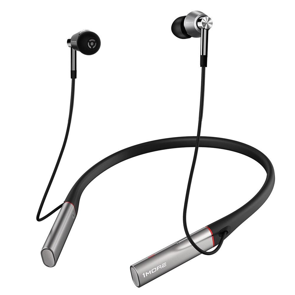 лучшая цена Беспроводные наушники 1MORE Xiaomi E1001BT Triple Driver BT In-EarHeadphones, серебристый