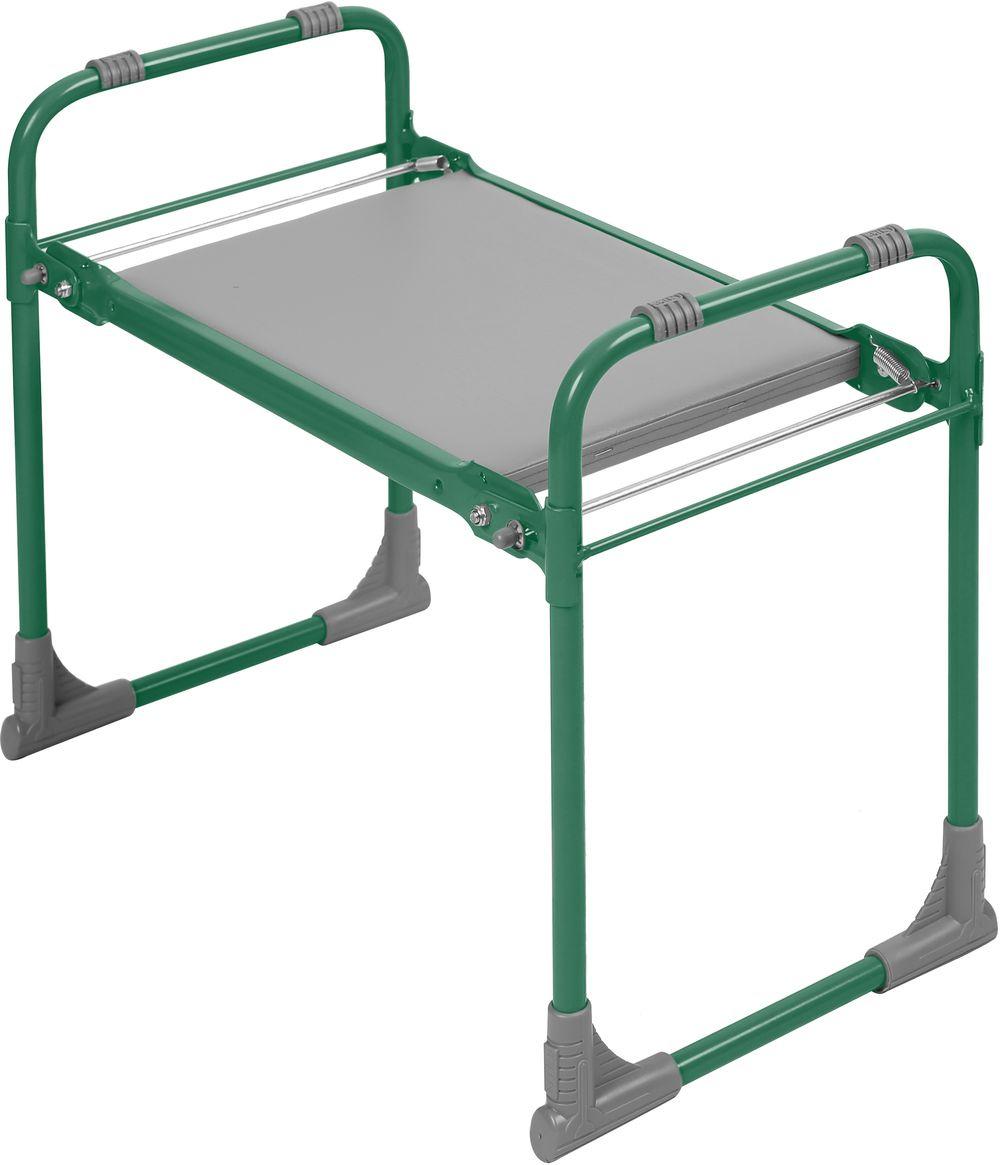 Садовая скамья Nika Скамейка Перевертыш с мягким сиденьем, зеленый
