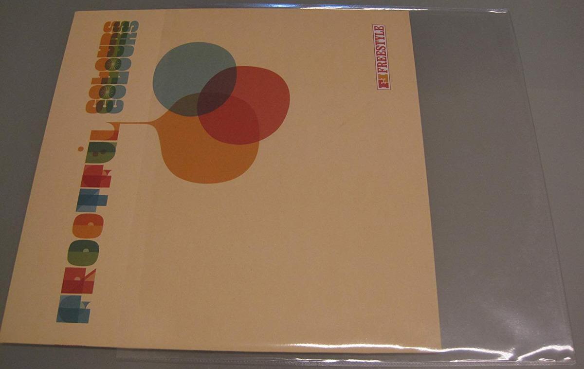 """Конверт для виниловой пластинки Audio Anatomy 12"""" LP внешний 100 микрон без клапана, прозрачный, 5 шт"""